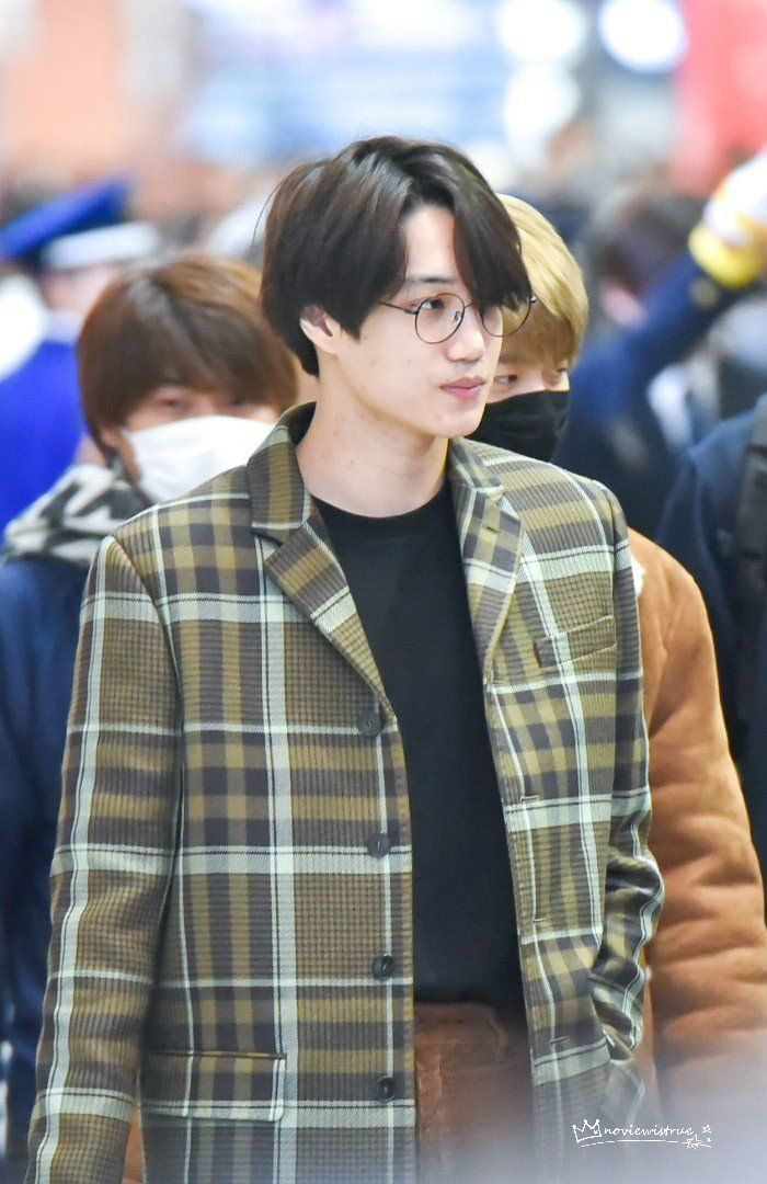 180222 #Kai #Exo at Incheon Airport