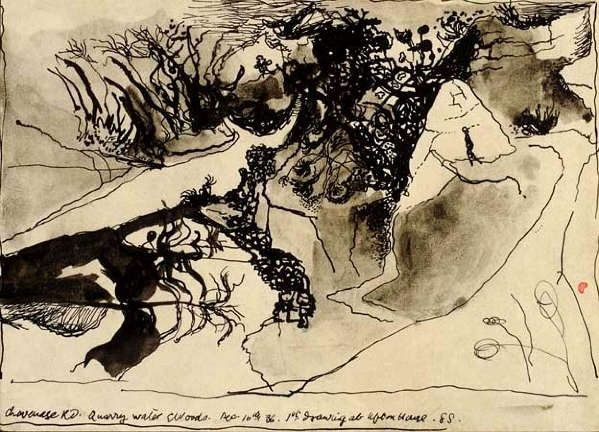 Graham Sutherland - Quarry Water and Woods 1039