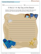 essay about beach experience