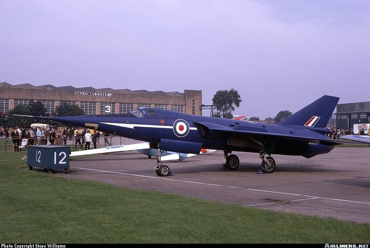 The Fairey Delta 2 was the development platform for UK supersonic research. Its delta-wing, Rolls-Royce Avon engines and hinged-nose were all later deployed on the Concorde supersonic airliner. On 10-Mar-1956 FD-2 WG774 broke the world air-speed record by a staggering 300mph margin, flying at 1132mph, smashing the record set just twelve months previously by the American F100 Super Sabre.