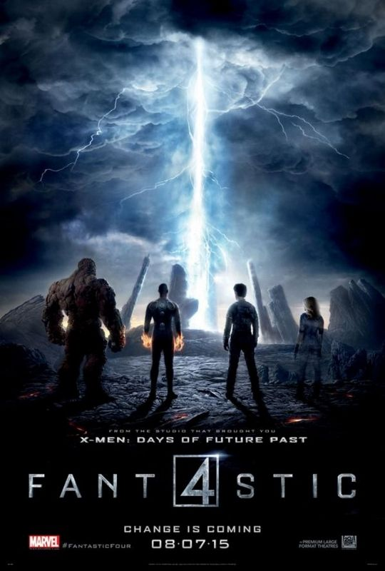 New Fantastic Four Poster - it is looking good!!