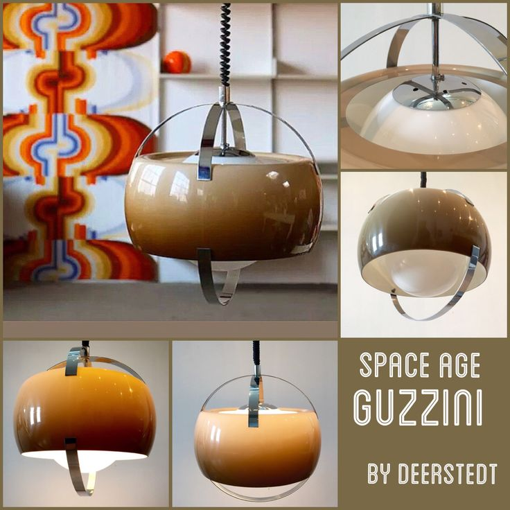 Space age - Guzzini pendant  Check out Deerstedt on Etsy