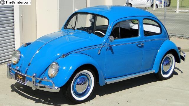 "1963...Used to call them ""love bugs"" or ""slug bugs"""