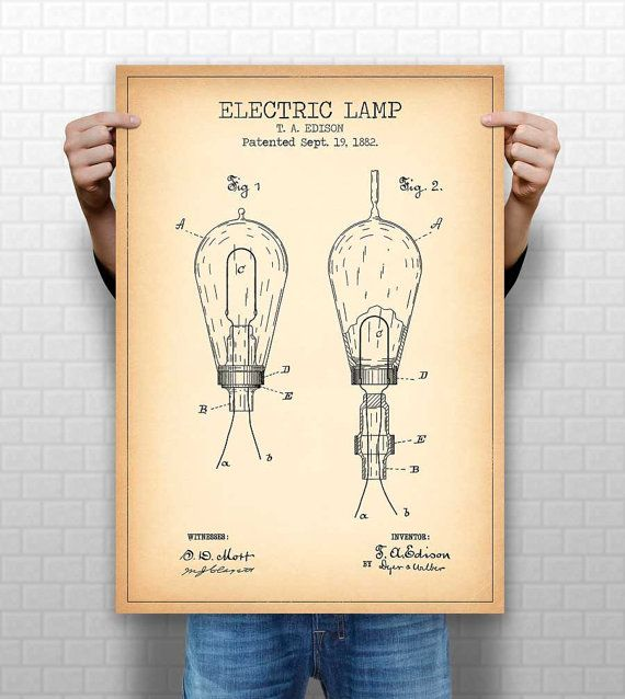 50 best vintage patents images on pinterest lantern art posters electric lamp poster electric lamp patentprint lamp blueprint energy decor school decor educational prints electricity wall art 1121 malvernweather Choice Image