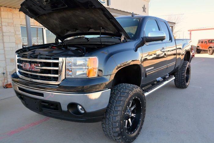 2012 GMC Sierra 1500 SLE LIFTED 4x4 Truck $30,988