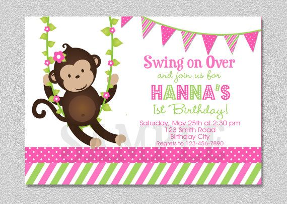 Personalized pink girl monkeys birthday cupcake toppers or favor personalized pink girl monkeys birthday cupcake toppers or favor tags printables diy only digital file you print more girl monkey birthday and monkey filmwisefo