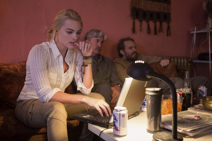 Whiskey Tango Foxtrot Margot Robbie Movie Still  --Be your own Whyld Girl with a wicked tee today! http://whyldgirl.com/tshirts