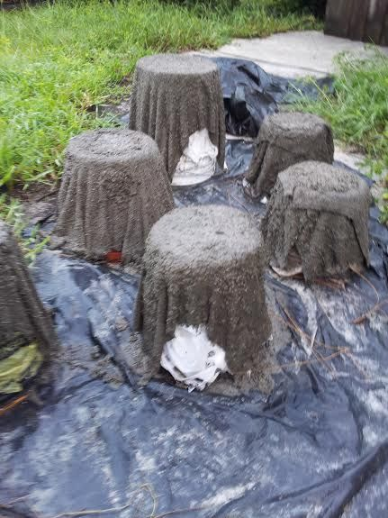 draped-cement-pots-drying