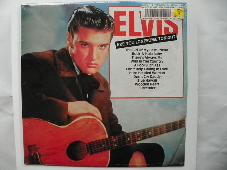 NEW ELVIS 33 LP SEALED ARE YOU LONESOME TONIGHT IMPORT RCA RECORDS CDS1207 1982 #RocknRoll