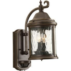 Shop for the Progress Lighting Antique Bronze Ashmore 2 Light Motion Sensor  Photocell Outdoor Wall Sconce with Seedy Glass Shade   Tall and save 110 best Exterior Lighting images on Pinterest   Exterior lighting  . Motion Activated Outdoor Wall Light With Photocell Sensor. Home Design Ideas