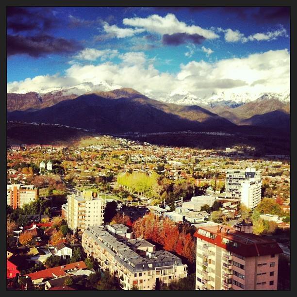 Santiago de Chile - Cordillera de Los Andes