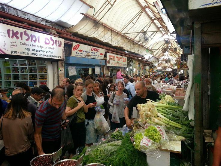 Mahane Yehuda Market (שוק מחנה יהודה) in Jerusalem, btw Yafo St and Agripas St