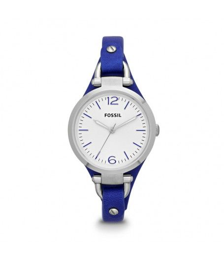 Ceas de dama Fossil Georgia ES3318 #fossil #blue #watch #accessories