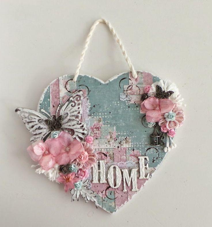 Ingrid's place: wall hanging HOME *Maja Design*