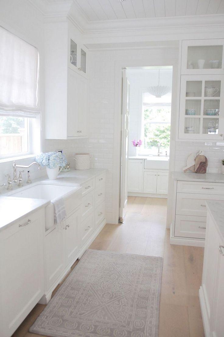 70 tile floor farmhouse kitchen decor ideas 60