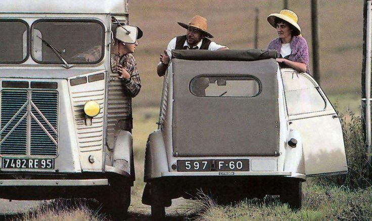 Citroen #HY van and Citroen #2CV