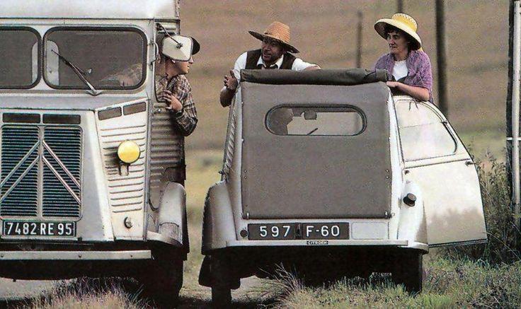 Citroen #HY van and Citroen #2CV