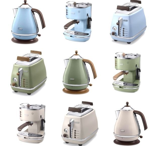 Icona Vintage Lar A Icona Vintage Delonghi Vintage Appliances Kitchen Styling Vintage