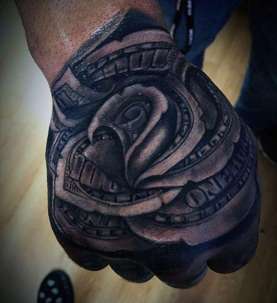 48 best Money Hand Tattoos images on Pinterest | Money ...