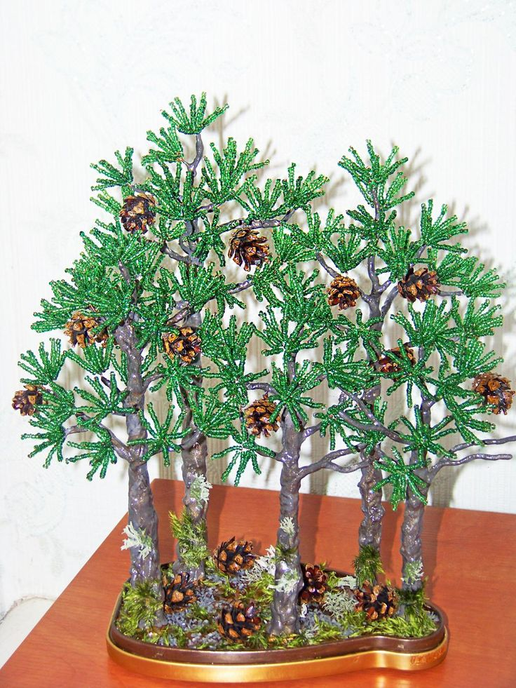 216 best Beaded Bonsai images on Pinterest | Wire trees ...