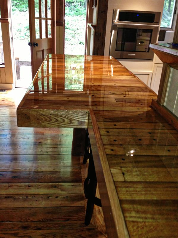 Epoxy Countertops. Epoxy CountertopCustom CountertopsPallet CountertopKitchen  CountertopsBar Top ...