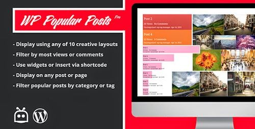 CodeCanyon - WP Popular Posts Pro v1.0.0