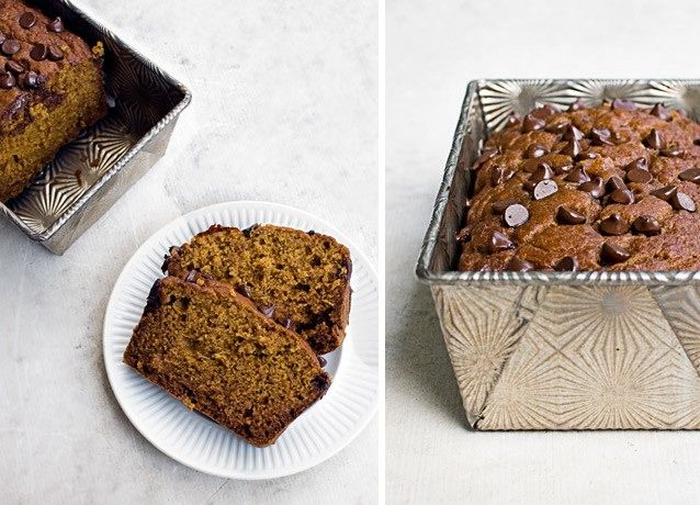 Pumpkin & Chocolate Chip | 11 Delicious Quick Breads You Can Make At Home, I Promise | Bustle