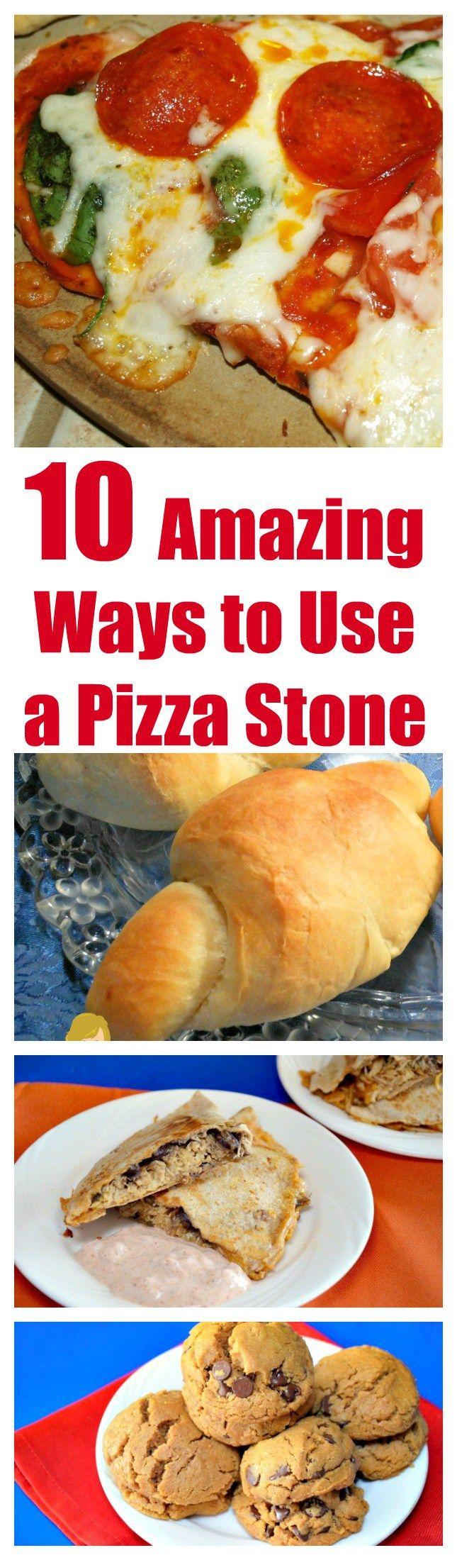 10 Amazing Ways to Use a Pizza Stone #pizza stone #pizza stones #10 Amazing Ways to Use a Pizza Stone #kitchen #kitchen tips