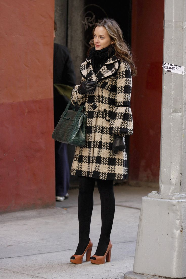 If I had Blair's wardrobe, I might not hate the winter half as much.