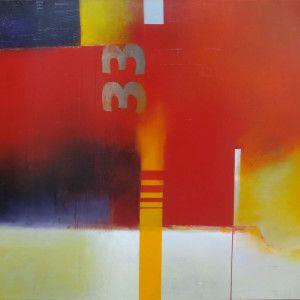 """No 33 diptych panel 2"" by Bee Doughty-Pratt"