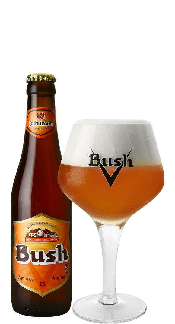 Dubuisson Brewery - Bush Amber 33cl