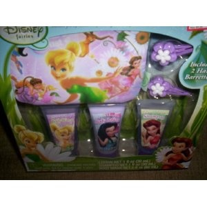 Disney Fairies Pixie Beauty Set Bath Set - Shampoo, Lotion, Body Wash, Barrettes, Purse (Misc.) http://documentaries.me.... B0072NO5AE