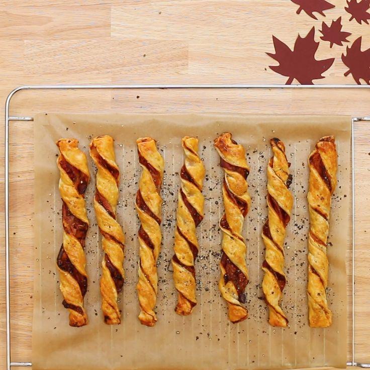Diese Blätterteig-Bacon-Twister machen deinen Tag garantiert besser