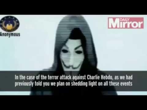 #Anonymous#OpCharliHebdo》english sub《