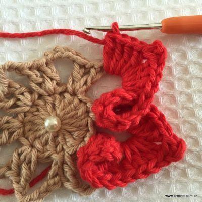 Flor coração passo a passo - croche.com (37)