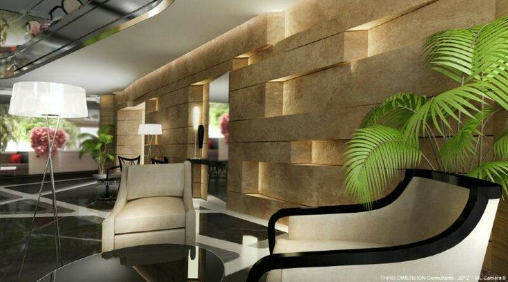 A feature wall in a hotel in beirut Lebanon - designed by 3rd DIMENSION Architects - www.3darchitects-lb.com _ #architecture #design #architectsinlebanon