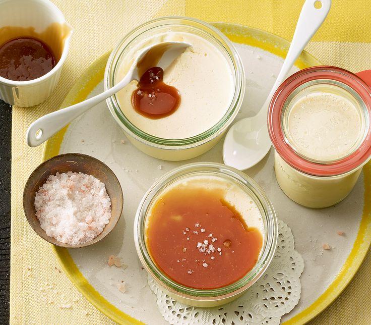 Ein süsser Dessert-Traum mit einer Prise Salz. Eine Harmonie, die mit allen Geschmackssinnen spielt.