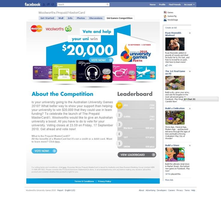 Various Facebook Microsites - http://ronaldjusuf.wordpress.com/2013/02/20/various-facebook-page-campaigns/