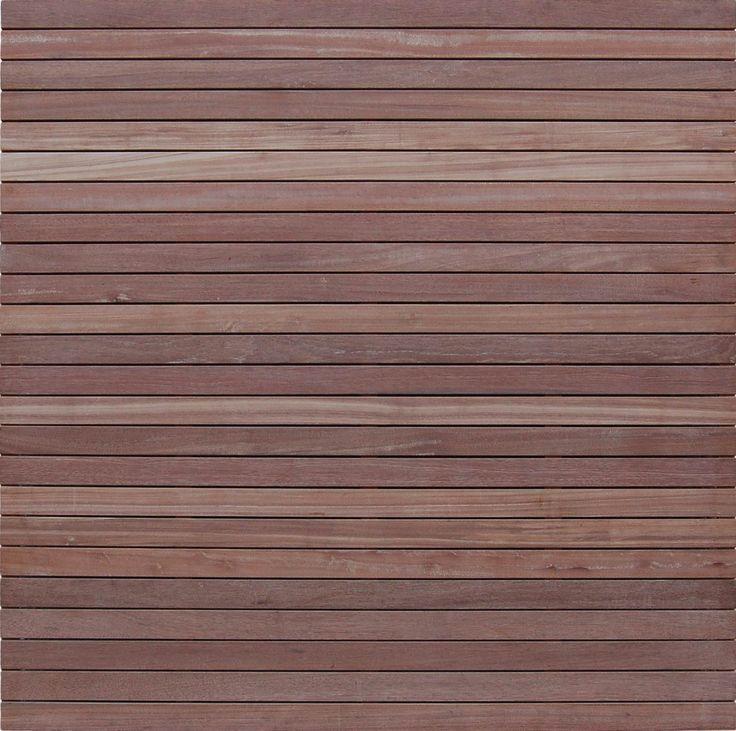 Tuinhout :: Tuinschermen / Deuren :: Hardhout :: Vintage | Bangkirai scherm 50 - Lek Tuinmaterialen
