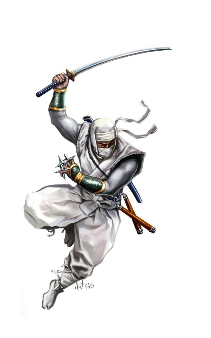 ninja power   Ninja Power by Artigas on deviantART