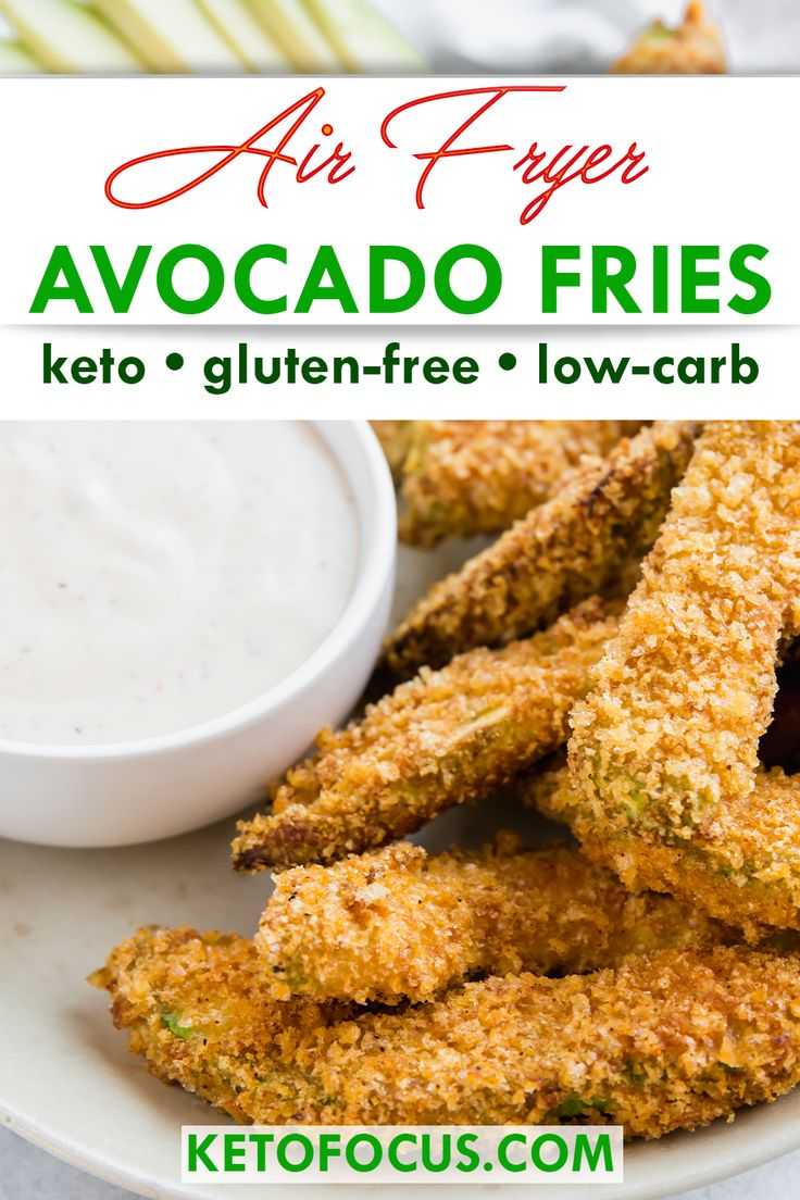 Keto Air Fryer Avocado Fries Recipe Recipe in 2020