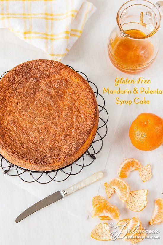 Donna Hay's Mandarin and Polenta cake with mandarin syrup recipe   via deliciouseveryday.com