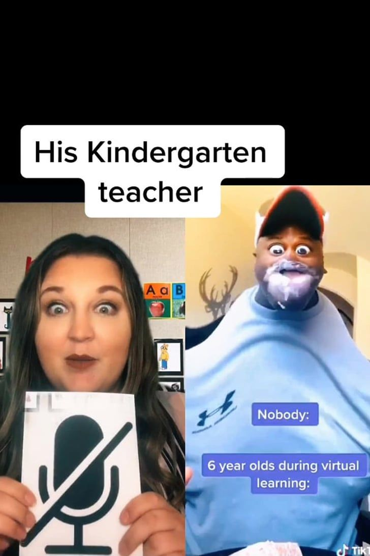 This Tiktok Parody Of A Teacher Trying To Get A Kid To Go On Mute Is Virtual Learning In A Nutshell Kindergarten Teachers Teacher Humor Teacher