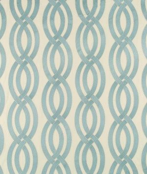 Robert Allen Twisty Lanes Water Fabric