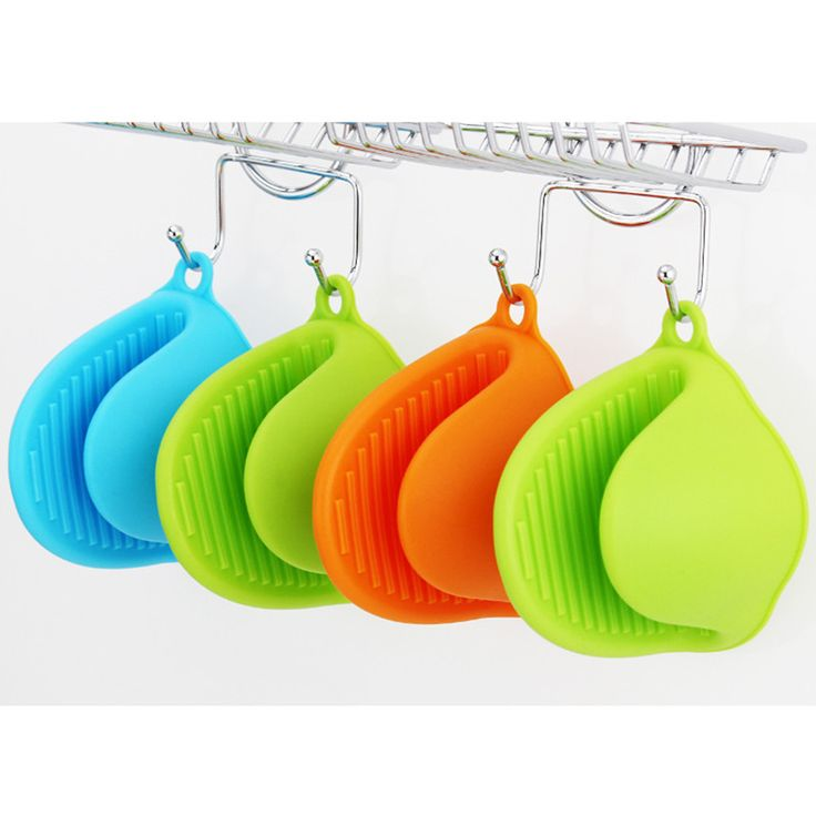 Cute Candy Colors 1PCS Kitchen Cooking Microwave Oven Mitt Insulated Non-slip Glove C5