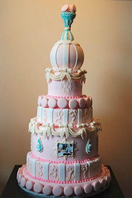 """from CakeWrecks.com ~ """"Sunday Sweets: C'est Bon!"""" (cakes inspired by Marie Antoinette) ~ July 22, 2012"""
