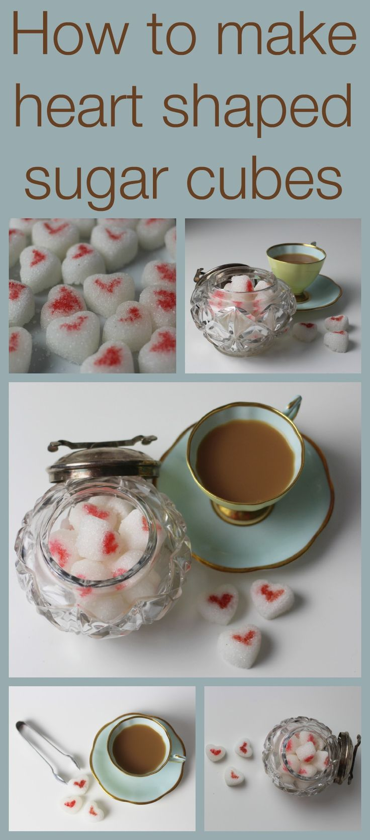 How to make heart shaped sugar cubes - Mum In The Madhouse