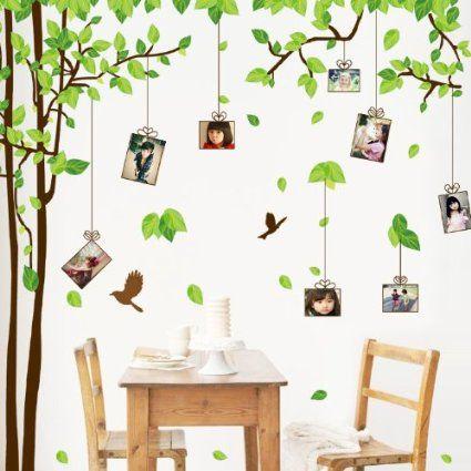 Oltre 1000 idee su Adesivi Murali Ad Albero su Pinterest  Decorazione da parete con alberi ...