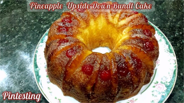 Pineapple Upside Down Cake Using Angel Food Cake Mix