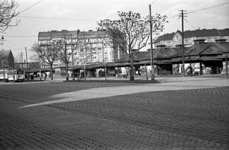 Lehel (Ferdinánd) téri piac.